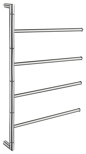 Outline Lite Towel Bar 4 Swivel Arms Stainless Steel