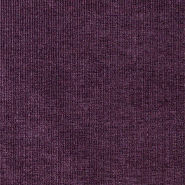 Purple Thin Striped Woven Velvet Upholstery Fabric By The Yard