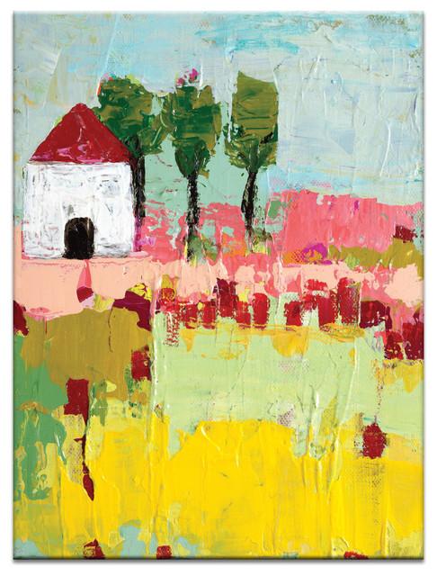 Simi S Settlement Canvas Print Contemporary Prints