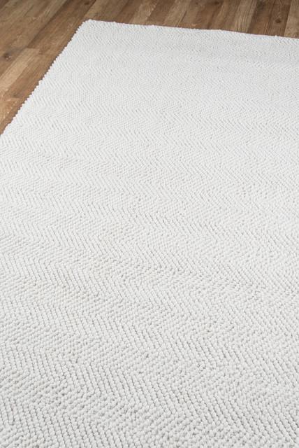 Erin Gates by Momeni Ledgebrook Washington Ivory Wool Area Rug 5'x8'