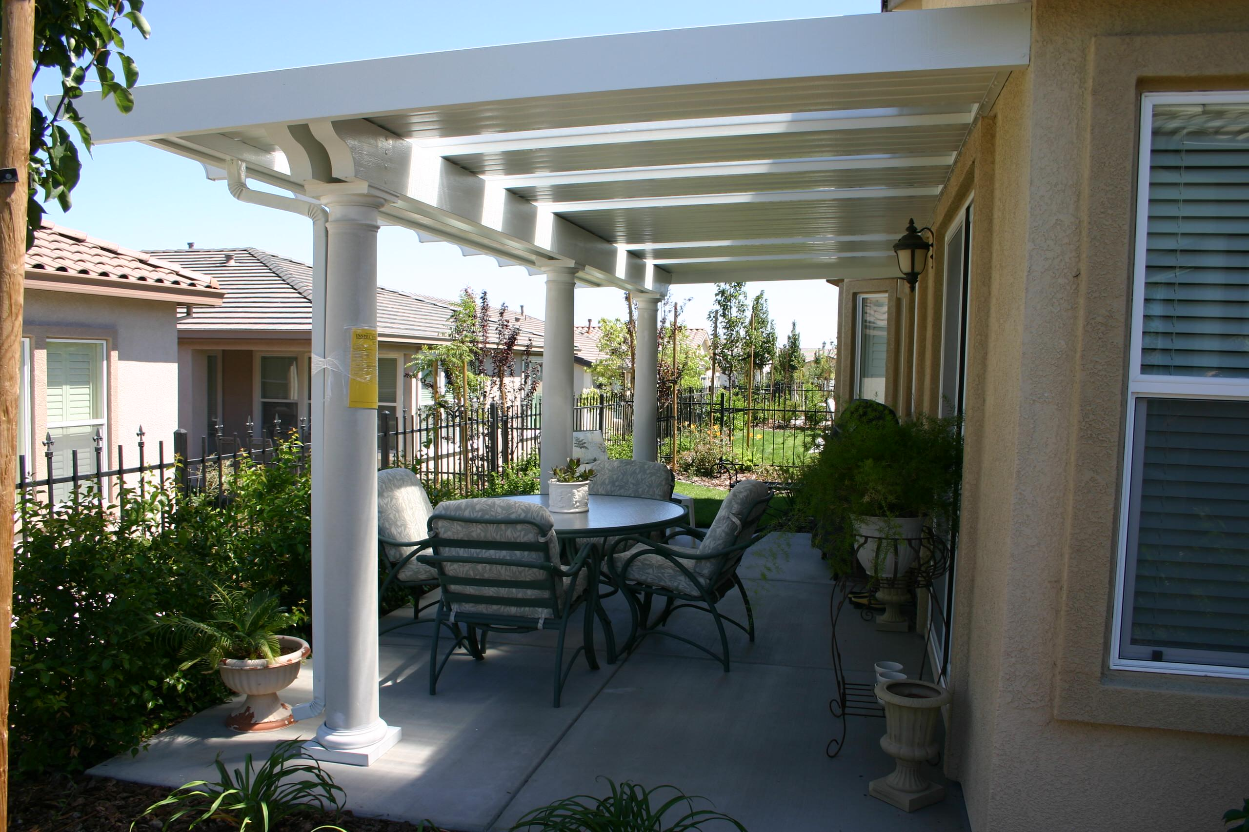 Solid Patio Covers