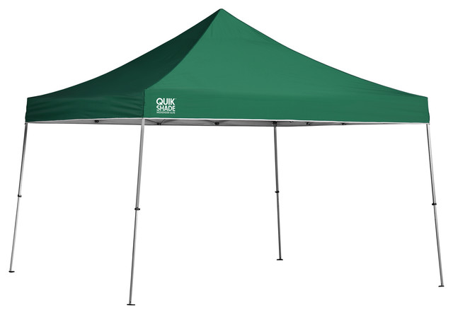 Quik Shade Weekender Elite We144 12&x27;x12&x27; Straight Leg Canopy, Green.