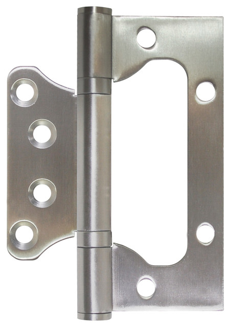 Flush Hinge, Stainless Steel - Contemporary - Hinges - by Jako Hardware