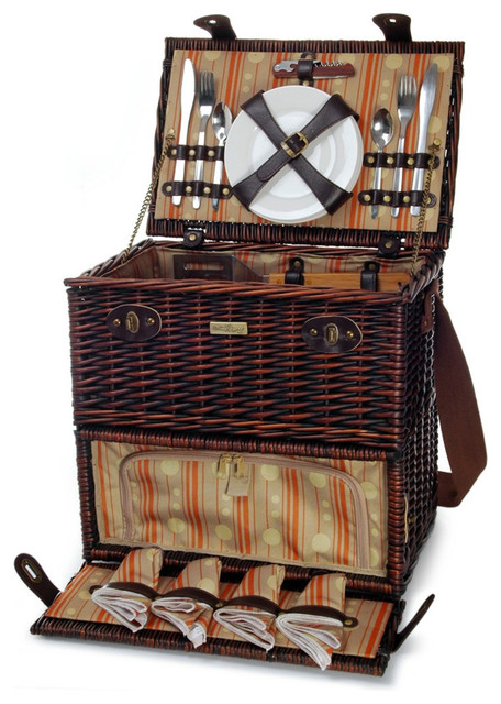 Chesapeake 4-Person Picnic Basket.