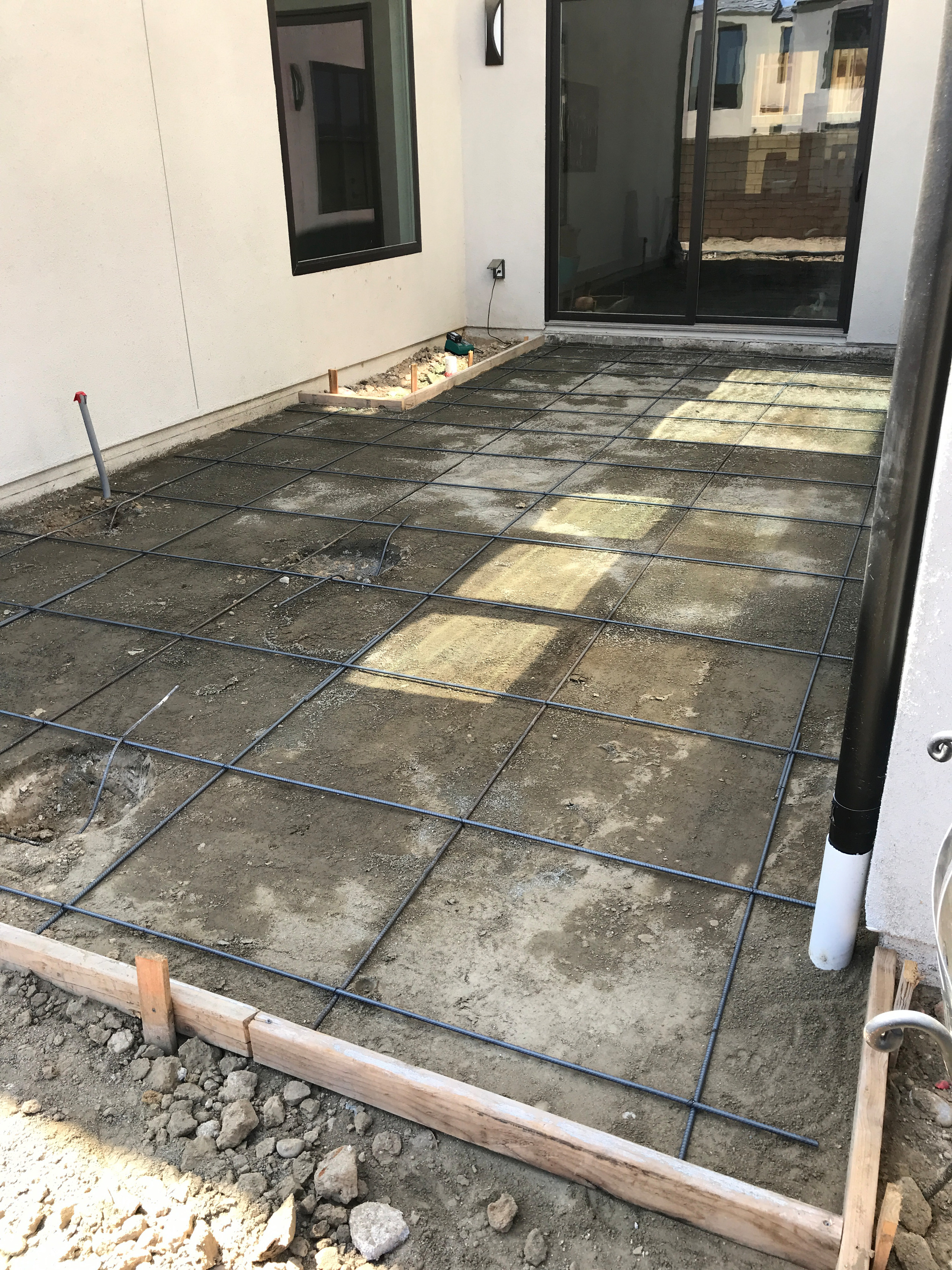 All Set and Ready for Concrete