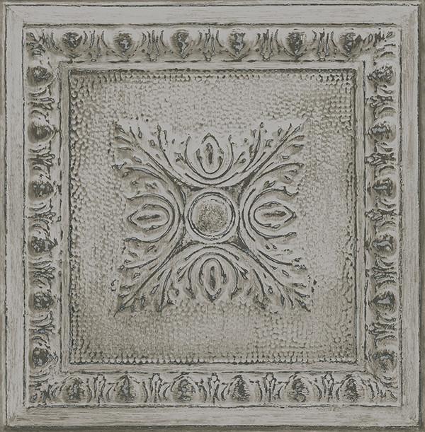 Tin tile pattern wallpaper traditional wallpaper by - American tin tiles wallpaper ...