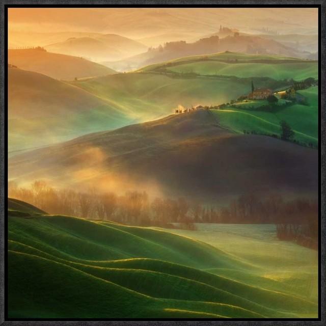 """morning Dreams"" Artwork, 16""x16""."