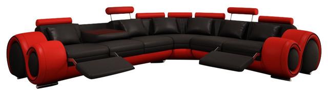 Divani Casa 4087 Modern Bonded Leather