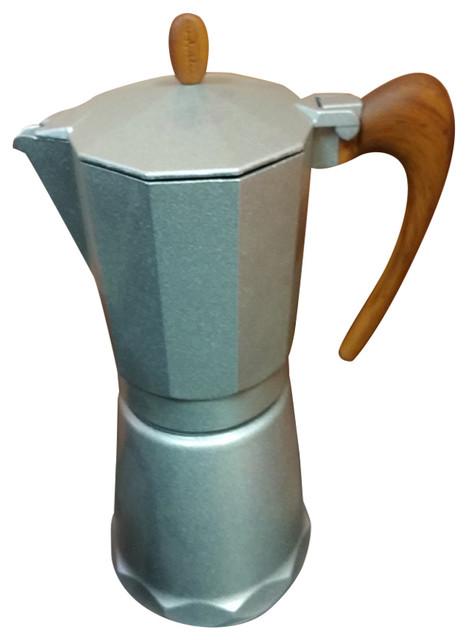 Spendida Stove Top Espresso Maker 9 Cup Modern Coffee