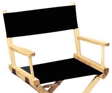 Groovy Sunbrella Directors Chair Replacement Cover Round Stick Black Machost Co Dining Chair Design Ideas Machostcouk
