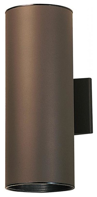 Kichler 2-Light Outdoor Wall Light, Architectural Bronze.