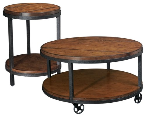 Round Coffee Table At 1stdibs Furniture Enchanting Wood And Iron Coffee Table Design Home