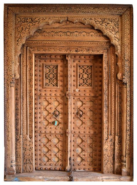 Antikes Eingangsportal aus Indien - Asiatisch - Berlin - von Guru-Shop