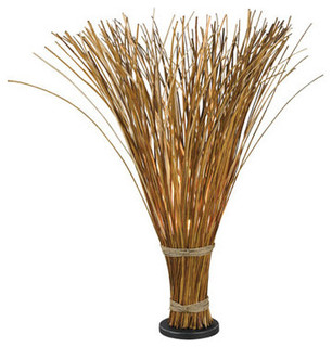 Superb Sheaf 1 Light Floor Lamps, Natural Reed   Tropical   Floor Lamps   By  Lighting New York
