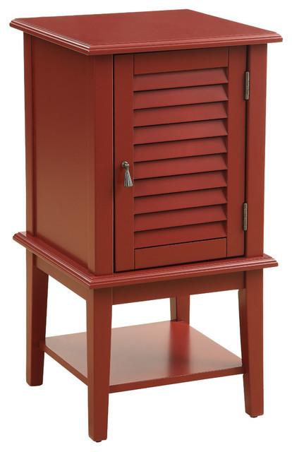 Shop houzz acme furniture acme hilda ii floor cabinet for Acme kitchen cabinets