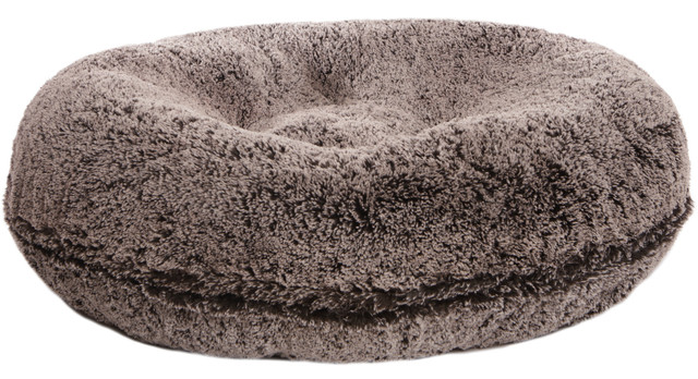 Bessie And Barnie Bagel Bed For Pets Frosted Willow Medium