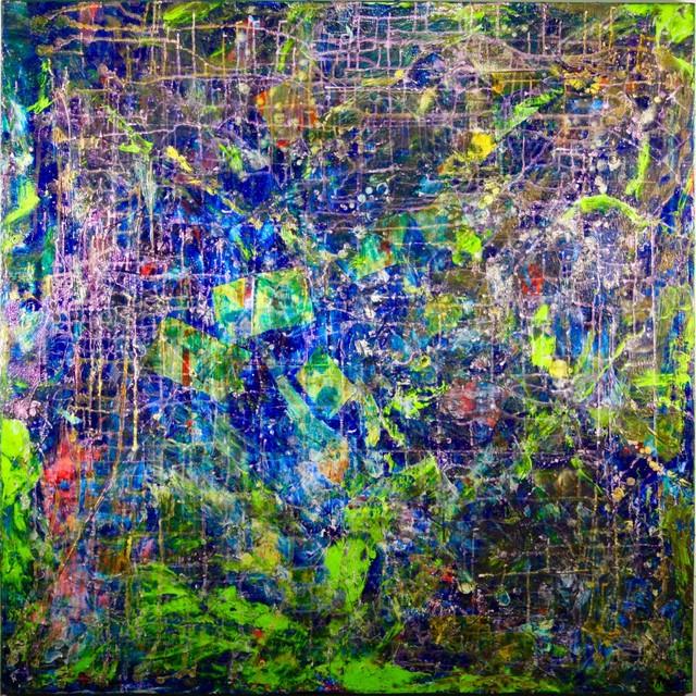 """rain Forest Dream Iii"" Original Painting."