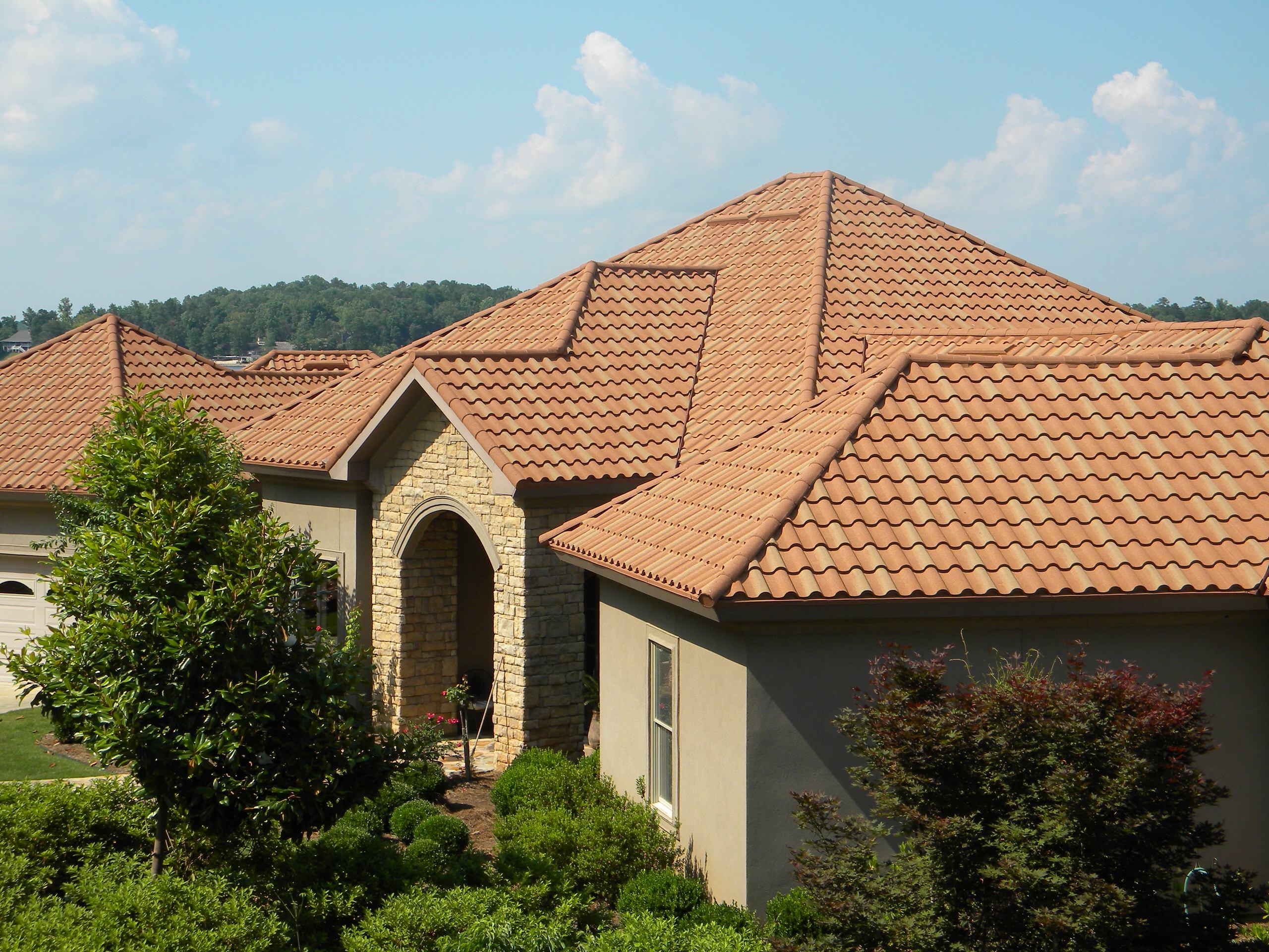 Corrugated Metal Roof Mediterranean | Houzz