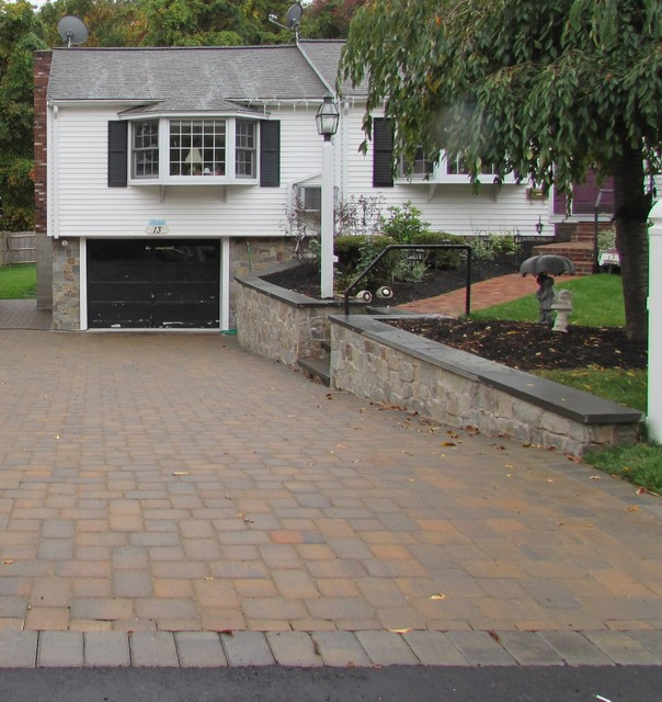 Walkway Driveway Parking Lot Design Planting