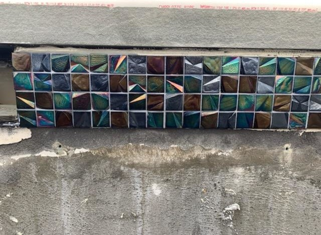 Gorgeous Glass Tile and Interior Finish