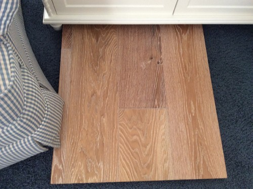 Is My Matte Finish Wood Floor Going To Look Like