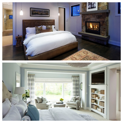 POLL: Fireplaces in the Bedroom - Yes or No?