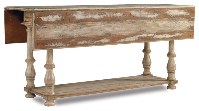 Good Wakefield Drop Leaf Table Farmhouse Console Tables