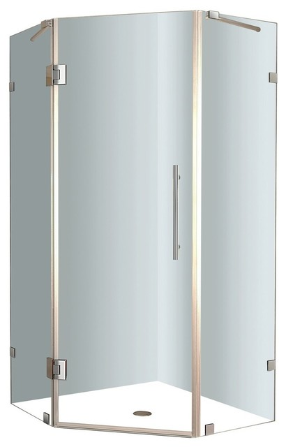 36 10 Neoscape Frameless Neo Angle Shower Enclosure   Contemporary   Shower  Stalls And Kits   By Blue Bath