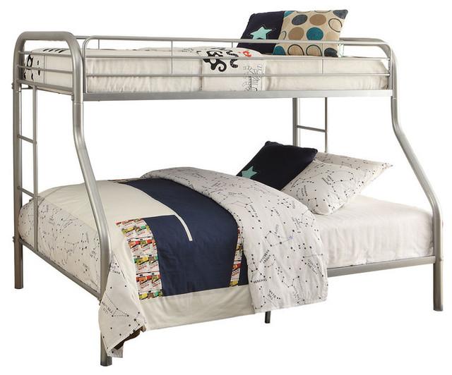 Tritan Twin Xl Over Queen Bunk Bed Silver