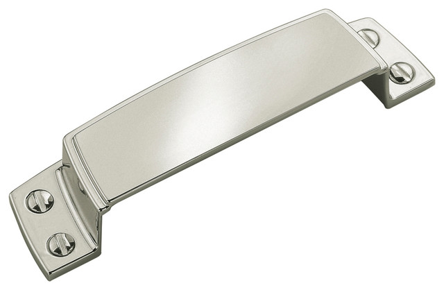 """Cup Pull, 3-1/2"""" CTC - Transitional - Cabinet And Drawer Handle Pulls - by Amerock Hardware"""
