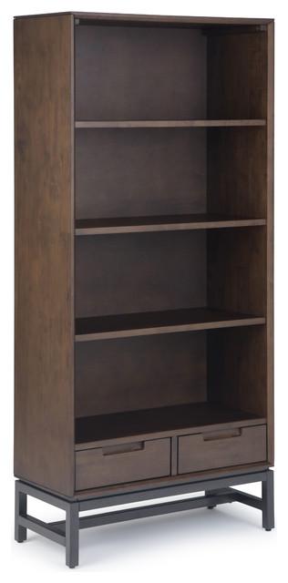 Banting Mid Century Bookcase, Walnut Brown