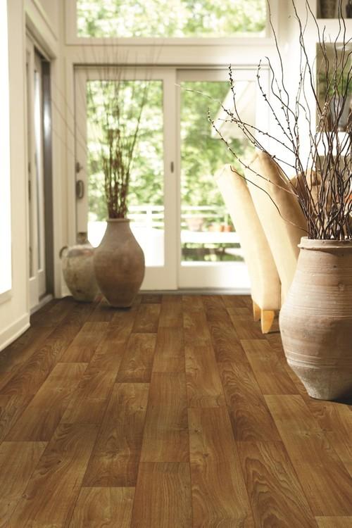 traditional vinyl flooring Charter Tawny Oak vinyl sheet flooring from Shaw