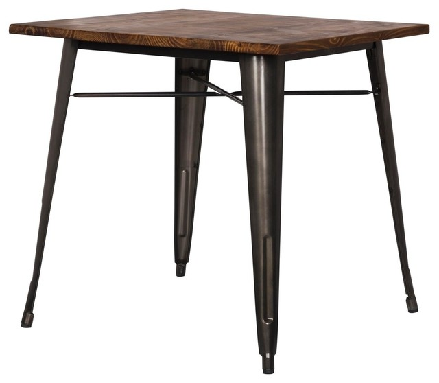 Metropolis Dining Table , Gunmetal.