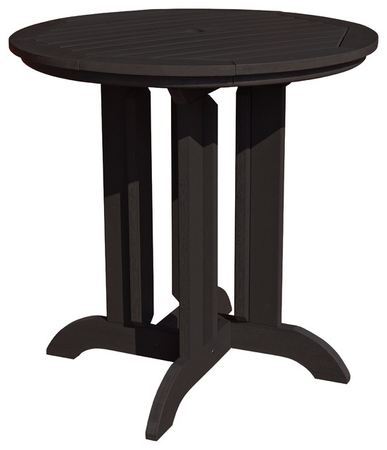 Round 36 39 39 counter dining table traditional outdoor for 36 round dining table