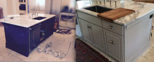 Popular Kitchen Cabinet Colors For 2017. Kitchen Island Redo