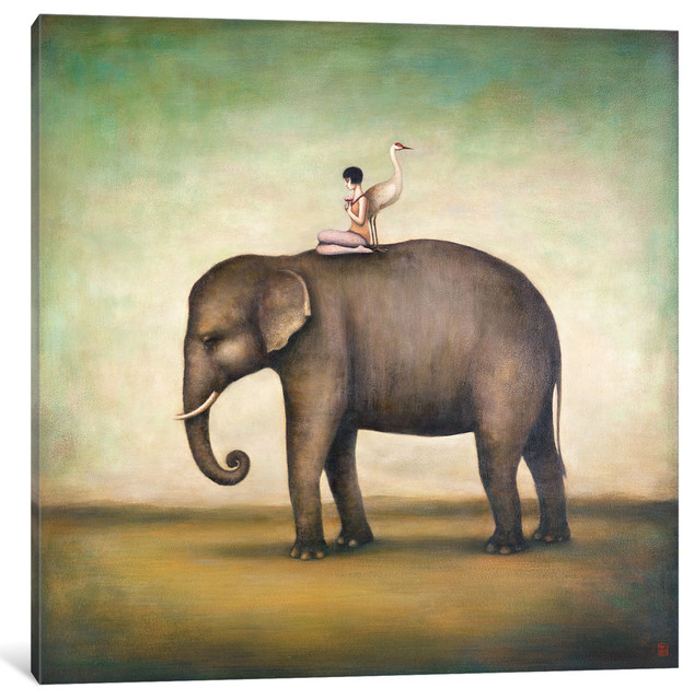 """""""eternal Companions Gallery"""" By Duy Huynh, 26x26x0.75""""."""