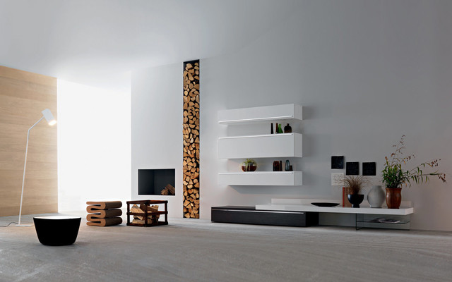 tv wand lampo l2 18 modern berlin by wohnstation. Black Bedroom Furniture Sets. Home Design Ideas