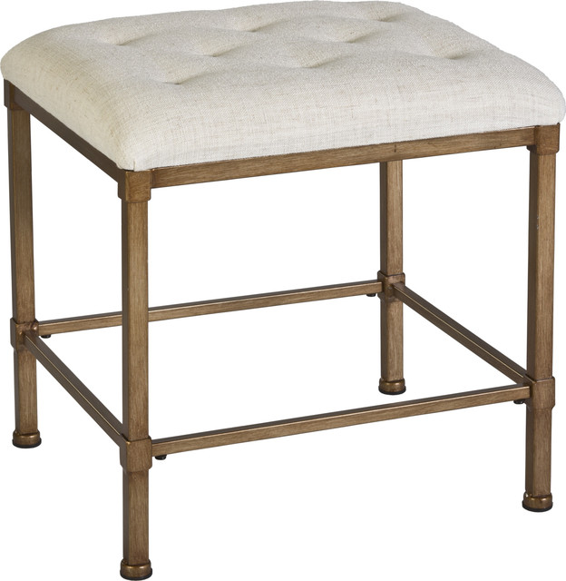Katherine Backless Vanity Stool Transitional Stools And