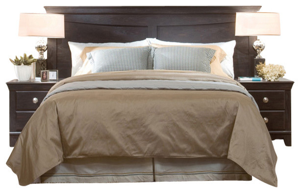 Standard Furniture Carlsbad 5-Piece King Headboard Bedroom Set in ...