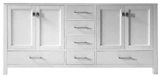 "Caroline Avenue 72"" Cabinet Only,White"