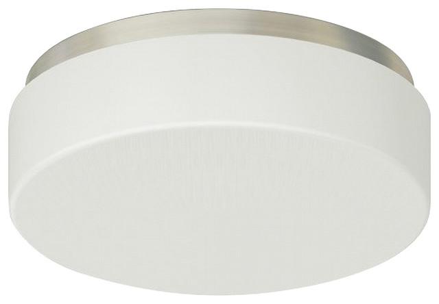 "Monument Lighting 617091 Decorative 4 Light Vanity Fixture: Monument Ceiling Fixture, Brushed Nickel 13""x4 1/8"