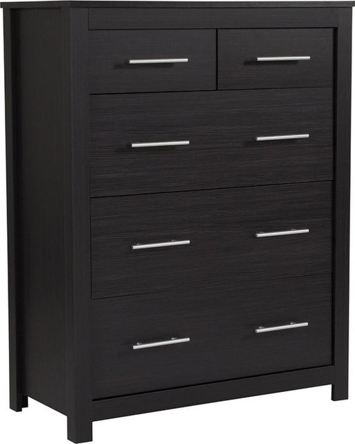 Lancaster Collection Chest Of Drawers In Espresso Finish.