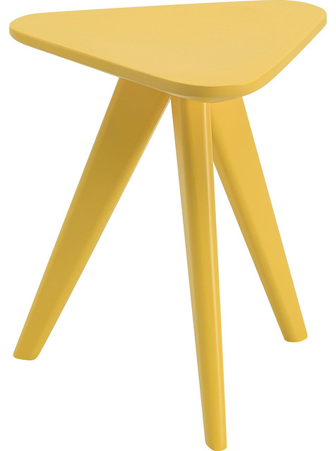 Karla Stool, Yellow Lacquer