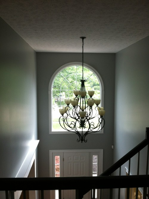 Two Story Foyer Lighting : Story foyer lighting
