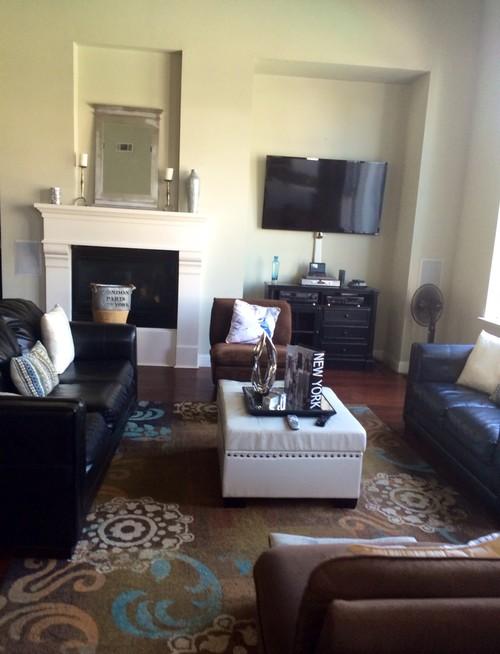 How To Arrange My New Living Room