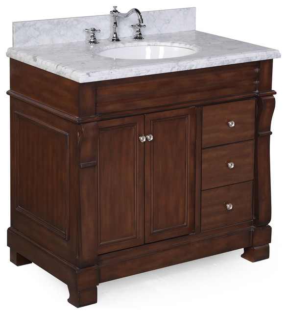 westminster bath vanity - traditional - bathroom vanities and sink