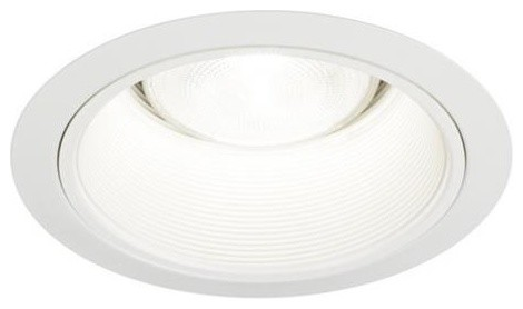 6 white baffle recessed trim 6 pack traditional recessed trims 6 white baffle recessed trim 6 pack aloadofball Image collections