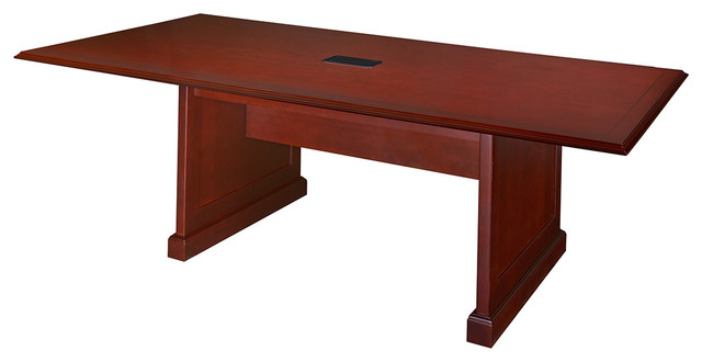 """Prestige 96"""" X 48"""" Conference Table With Power Data Grommet."""