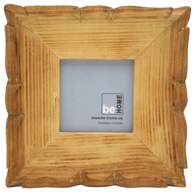 Carved Frame Square, 3.5 X 3.5 - Eclectic - Picture Frames - by Be Home