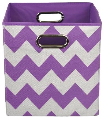 storage boxes purple